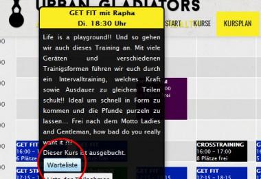 Neue Urban Gladiators Webseite